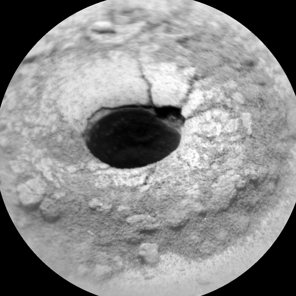 Nasa's Mars rover Curiosity acquired this image using its Chemistry & Camera (ChemCam) on Sol 1465, at drive 2798, site number 57