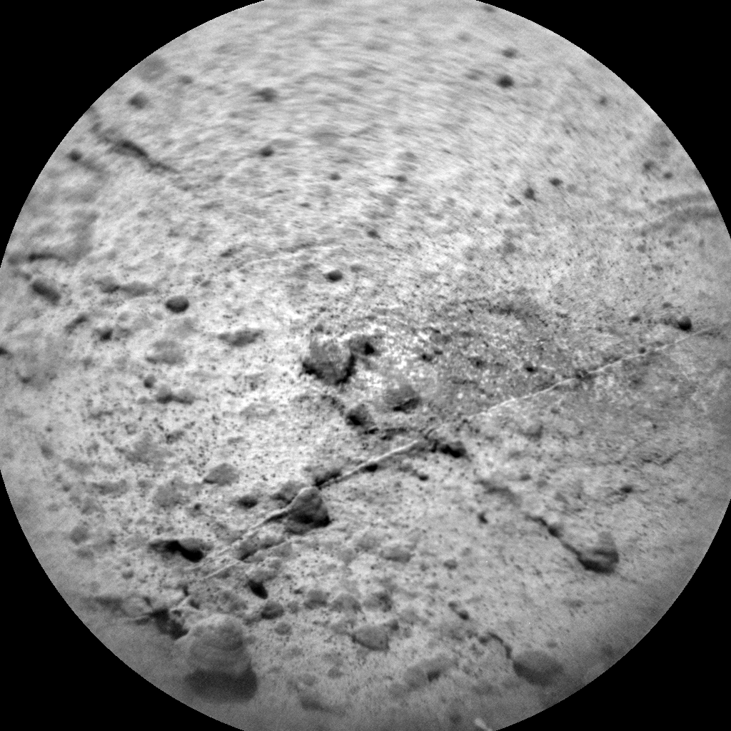 Nasa's Mars rover Curiosity acquired this image using its Chemistry & Camera (ChemCam) on Sol 1466, at drive 2798, site number 57
