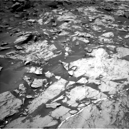 Nasa's Mars rover Curiosity acquired this image using its Left Navigation Camera on Sol 1468, at drive 2822, site number 57