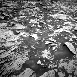 Nasa's Mars rover Curiosity acquired this image using its Left Navigation Camera on Sol 1468, at drive 2840, site number 57