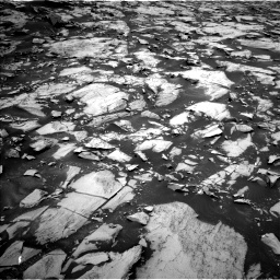 Nasa's Mars rover Curiosity acquired this image using its Left Navigation Camera on Sol 1468, at drive 2858, site number 57