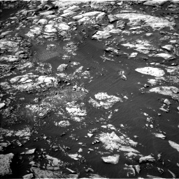 Nasa's Mars rover Curiosity acquired this image using its Left Navigation Camera on Sol 1468, at drive 2954, site number 57