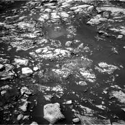 Nasa's Mars rover Curiosity acquired this image using its Left Navigation Camera on Sol 1468, at drive 2960, site number 57