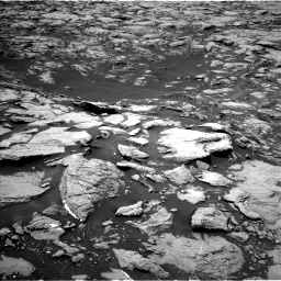 Nasa's Mars rover Curiosity acquired this image using its Left Navigation Camera on Sol 1468, at drive 2996, site number 57