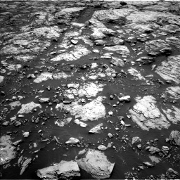 Nasa's Mars rover Curiosity acquired this image using its Left Navigation Camera on Sol 1468, at drive 3104, site number 57