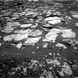 Nasa's Mars rover Curiosity acquired this image using its Left Navigation Camera on Sol 1468, at drive 3158, site number 57