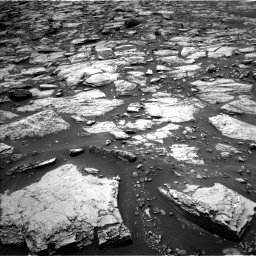 Nasa's Mars rover Curiosity acquired this image using its Left Navigation Camera on Sol 1468, at drive 3188, site number 57
