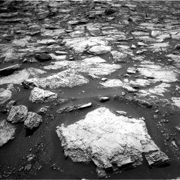 Nasa's Mars rover Curiosity acquired this image using its Left Navigation Camera on Sol 1468, at drive 3194, site number 57
