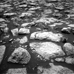 Nasa's Mars rover Curiosity acquired this image using its Left Navigation Camera on Sol 1468, at drive 3230, site number 57
