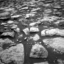 Nasa's Mars rover Curiosity acquired this image using its Left Navigation Camera on Sol 1468, at drive 3242, site number 57