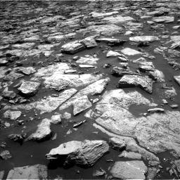 Nasa's Mars rover Curiosity acquired this image using its Left Navigation Camera on Sol 1468, at drive 3254, site number 57