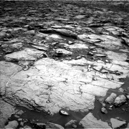 Nasa's Mars rover Curiosity acquired this image using its Left Navigation Camera on Sol 1468, at drive 3332, site number 57