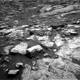 Nasa's Mars rover Curiosity acquired this image using its Left Navigation Camera on Sol 1468, at drive 3416, site number 57