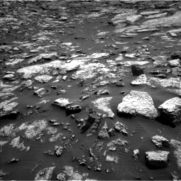 Nasa's Mars rover Curiosity acquired this image using its Left Navigation Camera on Sol 1468, at drive 3428, site number 57