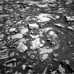 Nasa's Mars rover Curiosity acquired this image using its Left Navigation Camera on Sol 1468, at drive 3476, site number 57