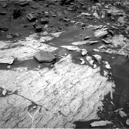 Nasa's Mars rover Curiosity acquired this image using its Right Navigation Camera on Sol 1468, at drive 2804, site number 57
