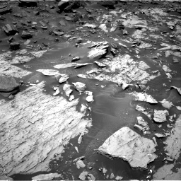 Nasa's Mars rover Curiosity acquired this image using its Right Navigation Camera on Sol 1468, at drive 2810, site number 57