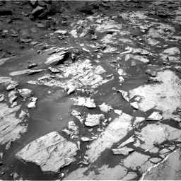 Nasa's Mars rover Curiosity acquired this image using its Right Navigation Camera on Sol 1468, at drive 2816, site number 57