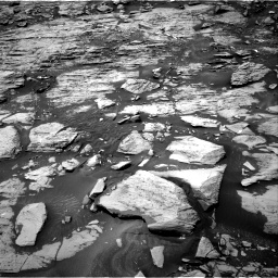 Nasa's Mars rover Curiosity acquired this image using its Right Navigation Camera on Sol 1468, at drive 2888, site number 57