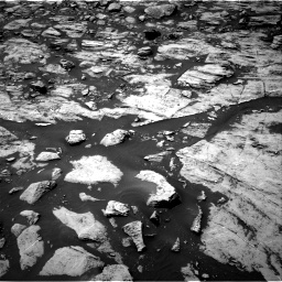 Nasa's Mars rover Curiosity acquired this image using its Right Navigation Camera on Sol 1468, at drive 2912, site number 57