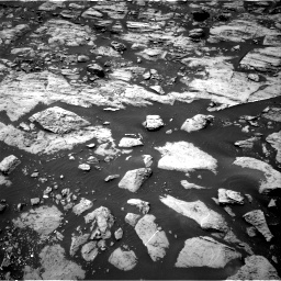 Nasa's Mars rover Curiosity acquired this image using its Right Navigation Camera on Sol 1468, at drive 2918, site number 57