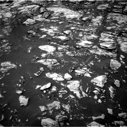 Nasa's Mars rover Curiosity acquired this image using its Right Navigation Camera on Sol 1468, at drive 2942, site number 57