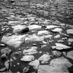 Nasa's Mars rover Curiosity acquired this image using its Right Navigation Camera on Sol 1468, at drive 3032, site number 57