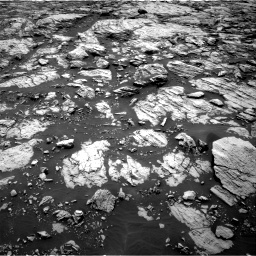 Nasa's Mars rover Curiosity acquired this image using its Right Navigation Camera on Sol 1468, at drive 3098, site number 57
