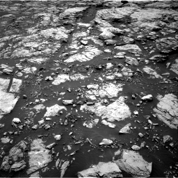 Nasa's Mars rover Curiosity acquired this image using its Right Navigation Camera on Sol 1468, at drive 3110, site number 57