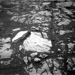 Nasa's Mars rover Curiosity acquired this image using its Right Navigation Camera on Sol 1468, at drive 3122, site number 57