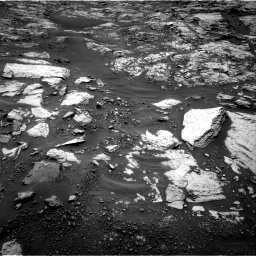 Nasa's Mars rover Curiosity acquired this image using its Right Navigation Camera on Sol 1468, at drive 3134, site number 57