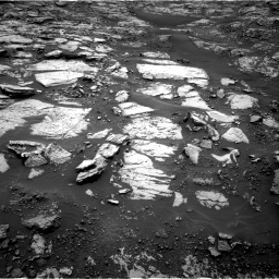 Nasa's Mars rover Curiosity acquired this image using its Right Navigation Camera on Sol 1468, at drive 3146, site number 57