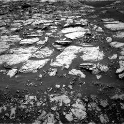 Nasa's Mars rover Curiosity acquired this image using its Right Navigation Camera on Sol 1468, at drive 3158, site number 57