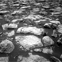 Nasa's Mars rover Curiosity acquired this image using its Right Navigation Camera on Sol 1468, at drive 3230, site number 57
