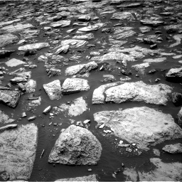 Nasa's Mars rover Curiosity acquired this image using its Right Navigation Camera on Sol 1468, at drive 3242, site number 57