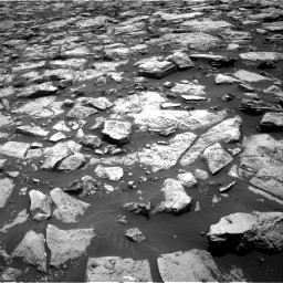 Nasa's Mars rover Curiosity acquired this image using its Right Navigation Camera on Sol 1468, at drive 3266, site number 57