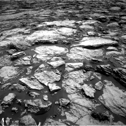 Nasa's Mars rover Curiosity acquired this image using its Right Navigation Camera on Sol 1468, at drive 3362, site number 57