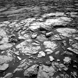 Nasa's Mars rover Curiosity acquired this image using its Right Navigation Camera on Sol 1468, at drive 3374, site number 57