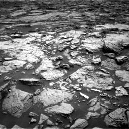 Nasa's Mars rover Curiosity acquired this image using its Right Navigation Camera on Sol 1468, at drive 3380, site number 57