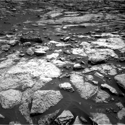 Nasa's Mars rover Curiosity acquired this image using its Right Navigation Camera on Sol 1468, at drive 3404, site number 57