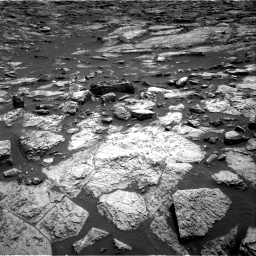 Nasa's Mars rover Curiosity acquired this image using its Right Navigation Camera on Sol 1468, at drive 3410, site number 57