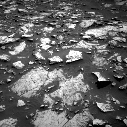 Nasa's Mars rover Curiosity acquired this image using its Right Navigation Camera on Sol 1468, at drive 3452, site number 57