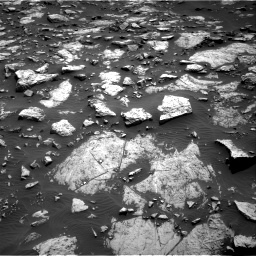 Nasa's Mars rover Curiosity acquired this image using its Right Navigation Camera on Sol 1468, at drive 3458, site number 57