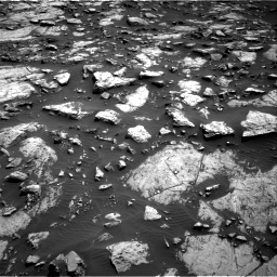 Nasa's Mars rover Curiosity acquired this image using its Right Navigation Camera on Sol 1468, at drive 3464, site number 57