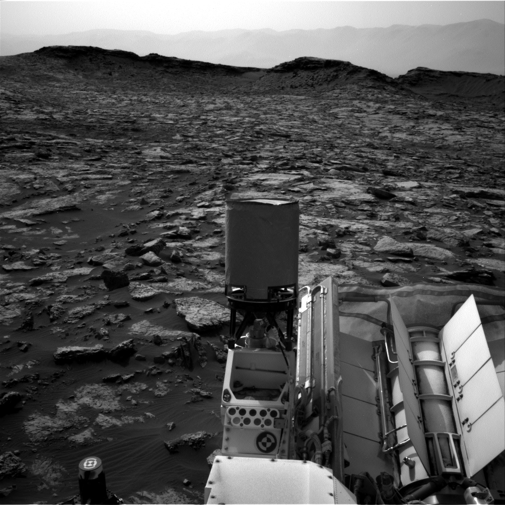 Nasa's Mars rover Curiosity acquired this image using its Right Navigation Camera on Sol 1468, at drive 0, site number 58