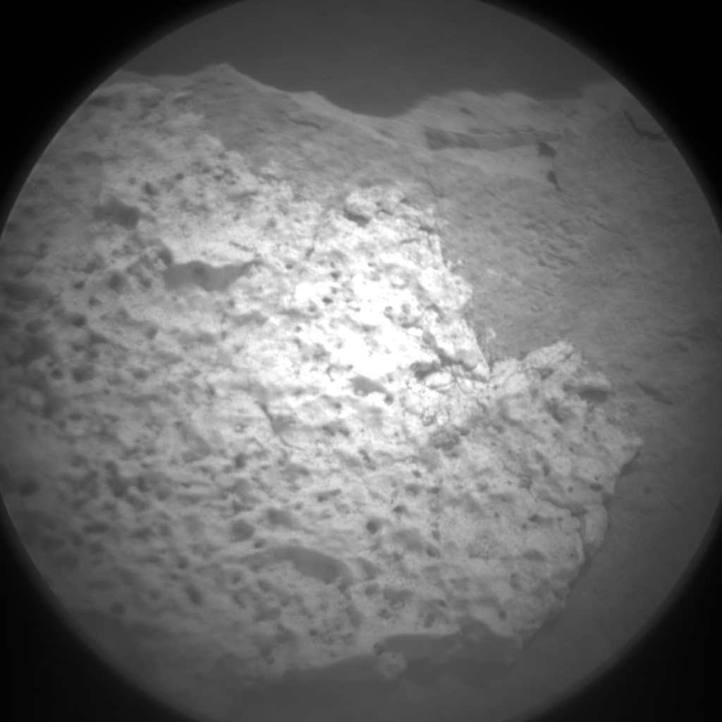 Nasa's Mars rover Curiosity acquired this image using its Chemistry & Camera (ChemCam) on Sol 1469, at drive 0, site number 58