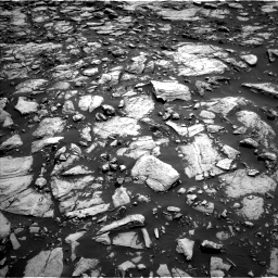 Nasa's Mars rover Curiosity acquired this image using its Left Navigation Camera on Sol 1469, at drive 6, site number 58