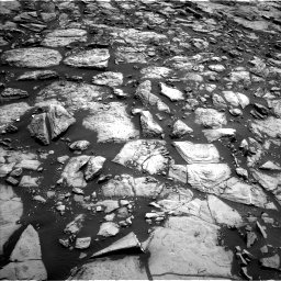 Nasa's Mars rover Curiosity acquired this image using its Left Navigation Camera on Sol 1469, at drive 18, site number 58