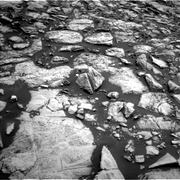 Nasa's Mars rover Curiosity acquired this image using its Left Navigation Camera on Sol 1469, at drive 24, site number 58