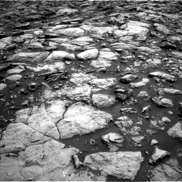 Nasa's Mars rover Curiosity acquired this image using its Left Navigation Camera on Sol 1469, at drive 54, site number 58